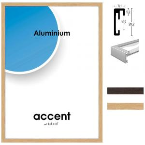 Marco de aluminio Duo