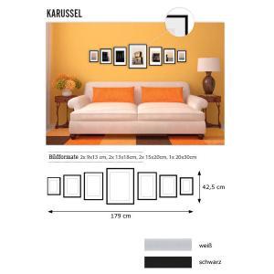 """Galería para pared """"carrusel"""""""