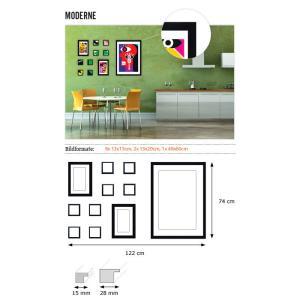 """Galería para pared """"modernidad"""""""