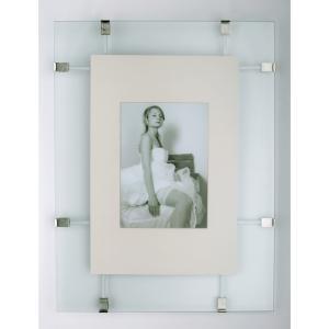 Soporte para imagenes con vidrio doble