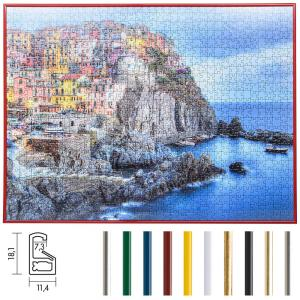 Marco para puzle de plástico para 100 hasta 500 piezas