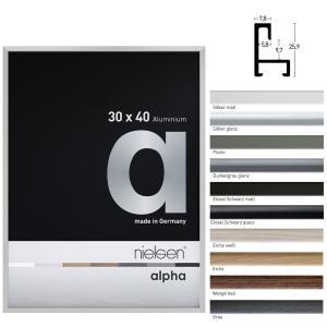 Marco de aluminio a medida, perfil alpha