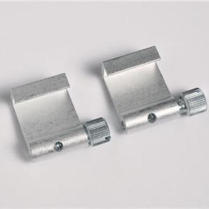 2 piezas ganchos de aluminio