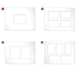 Paspartú galería 2,5 mm, formato exterior 30x40