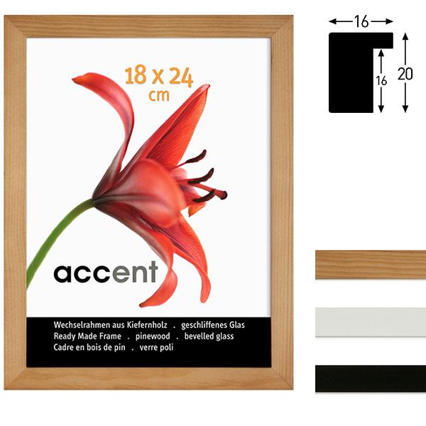 Accent Marco de intercambio de madera Wood | Todomarcos.es