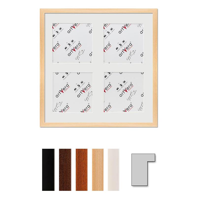 """Marco galería para 4 """"Lund"""", 40x40 cm - 15x15 cm"""