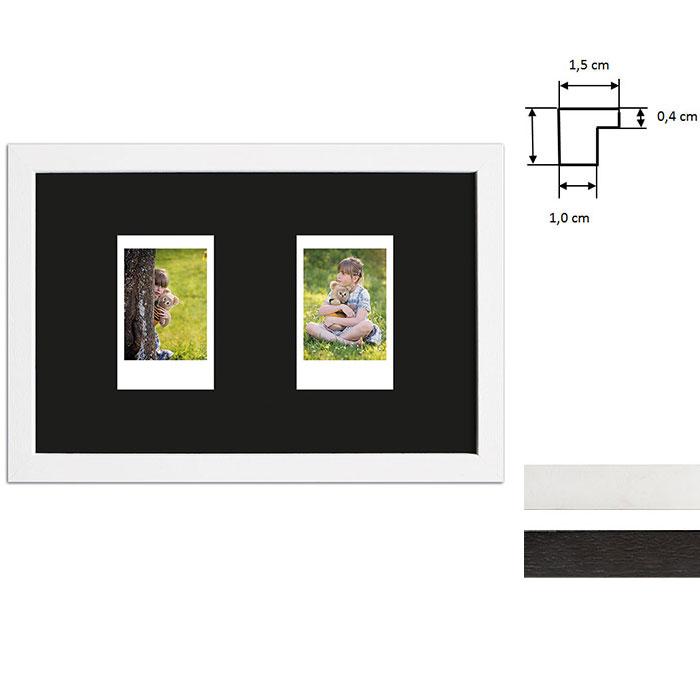 Marco para 2 imagenes directas - Typ Instax Mini