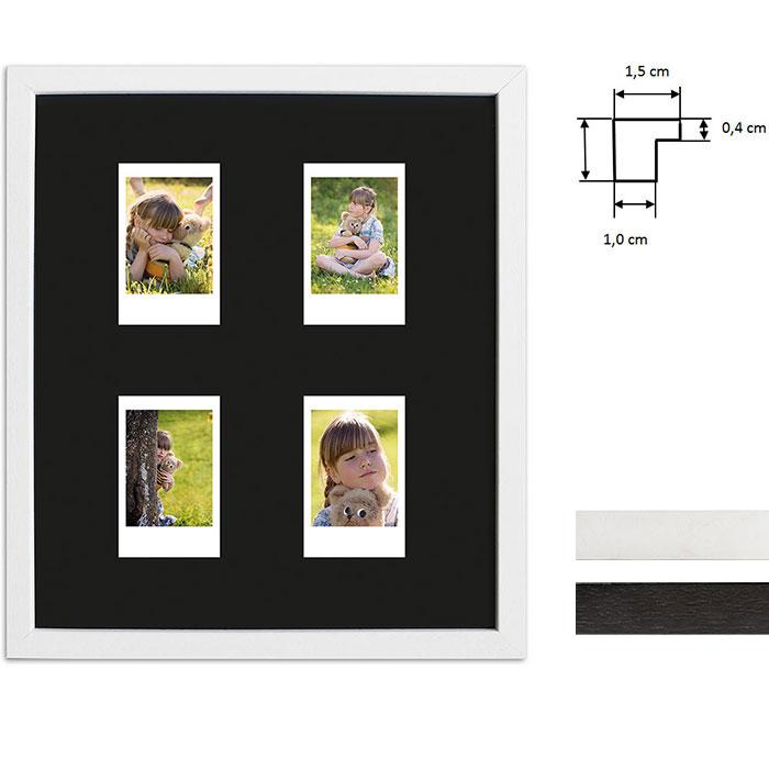 Marco para 4 imagenes directas - Typ Instax Mini