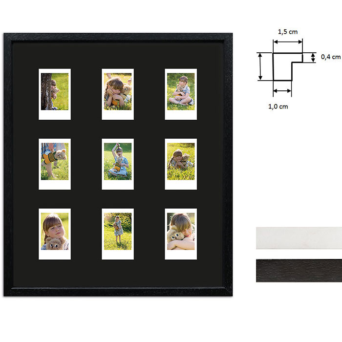 Marco para 9 imagenes directas - Typ Instax Mini