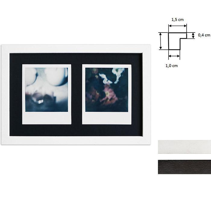 Marco para 2 imagenes directas - Typ Polaroid 600