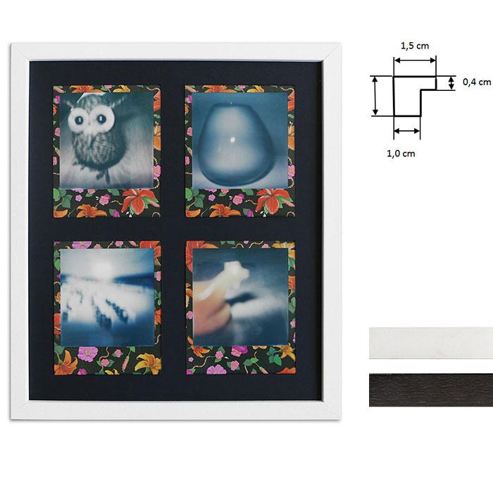 Marco para 4 imagenes directas - Typ Polaroid 600