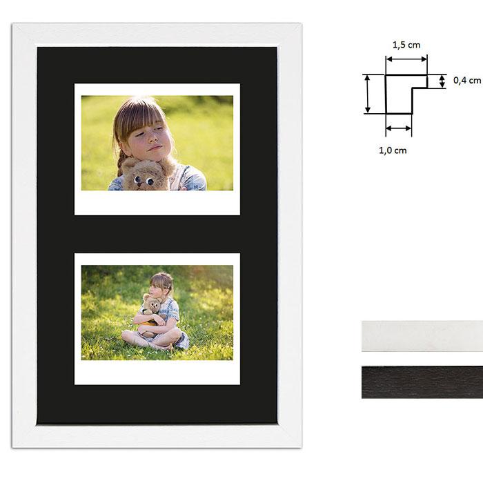 Marco para 2 imagenes directas - Typ Instax Wide