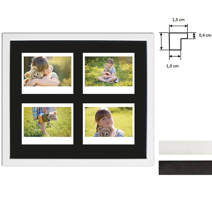 Marco para 4 imagenes directas - Typ Instax Wide