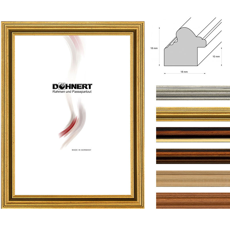Doehnert marco de madera a medida latimer - Madera a medida ...