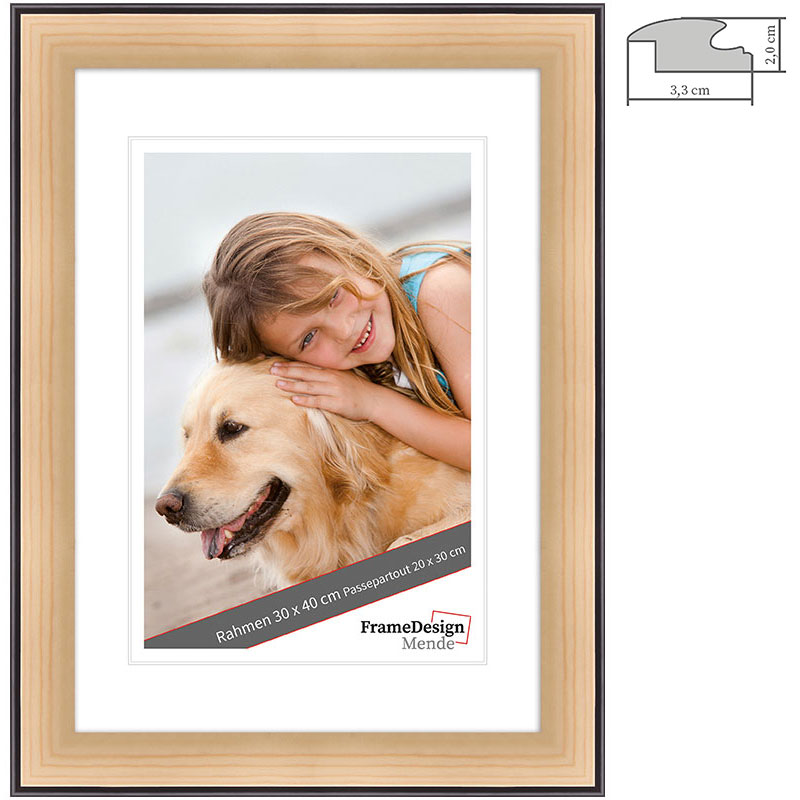 Marco de madera Chuchasa