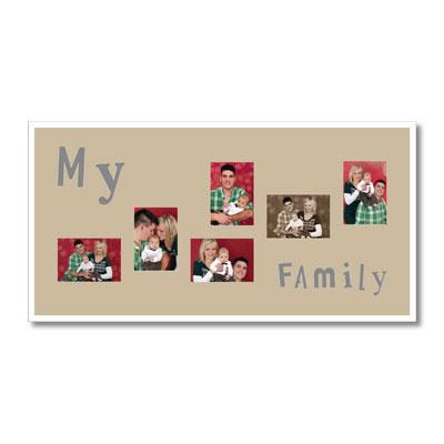 "Paspartú con tema ""Family"""