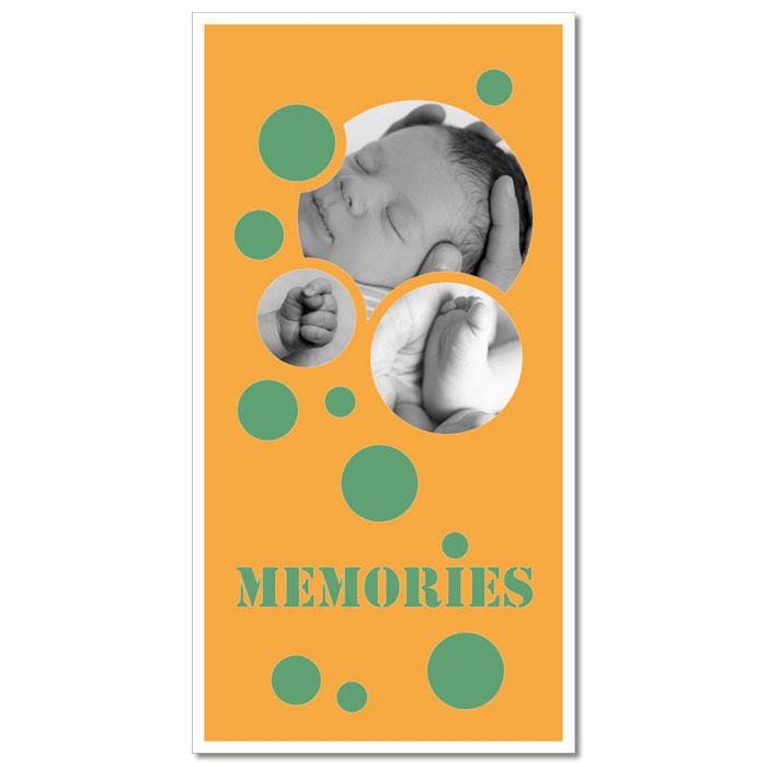 "Paspartú con tema ""Memories"""