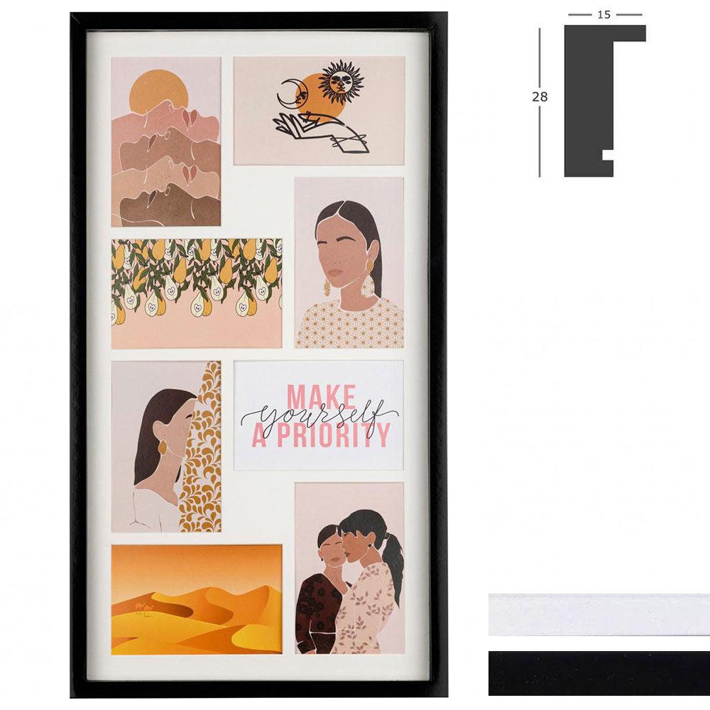 Marco galería Piano para 8 imagenes