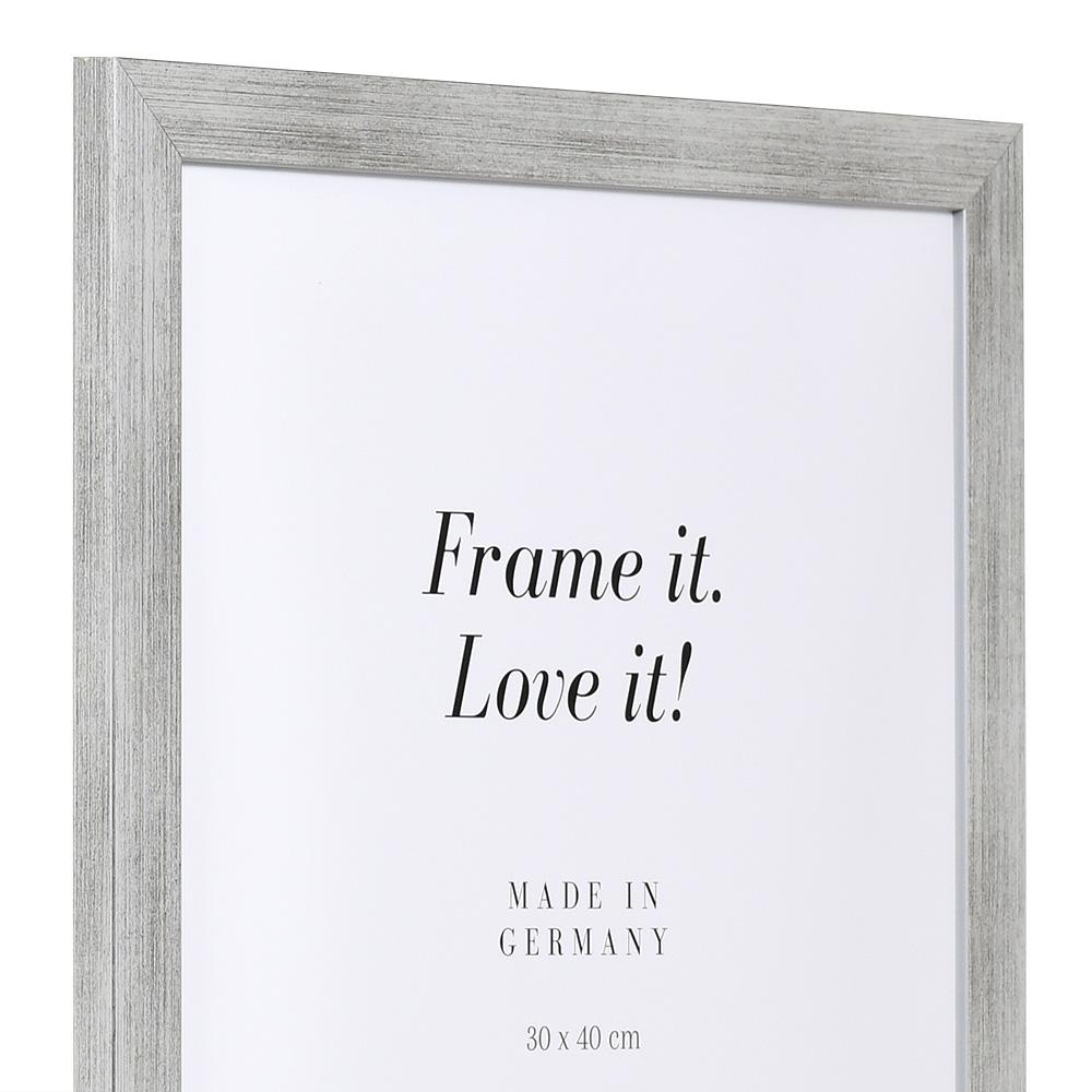 "Marco de acción ""Top Pro"" 10x15 cm | plata | vidrio standard"