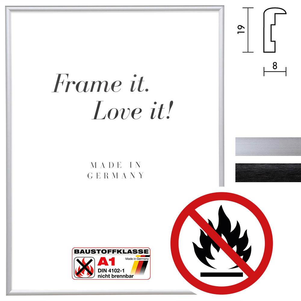 "Categoría estándar A1 marco protección contra incendios ""Econ redondo"""