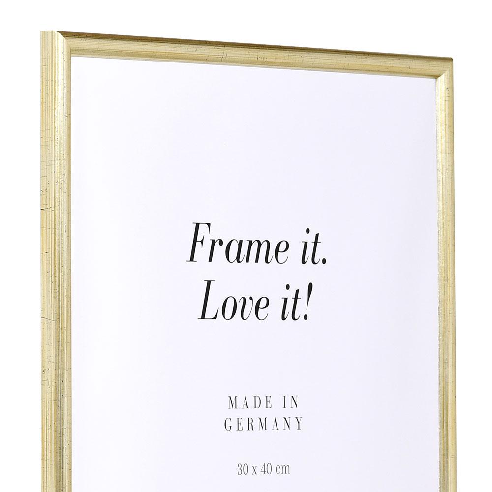 Mira marco de madera avignon a medida plata vidro normal - Marcos a medida ...