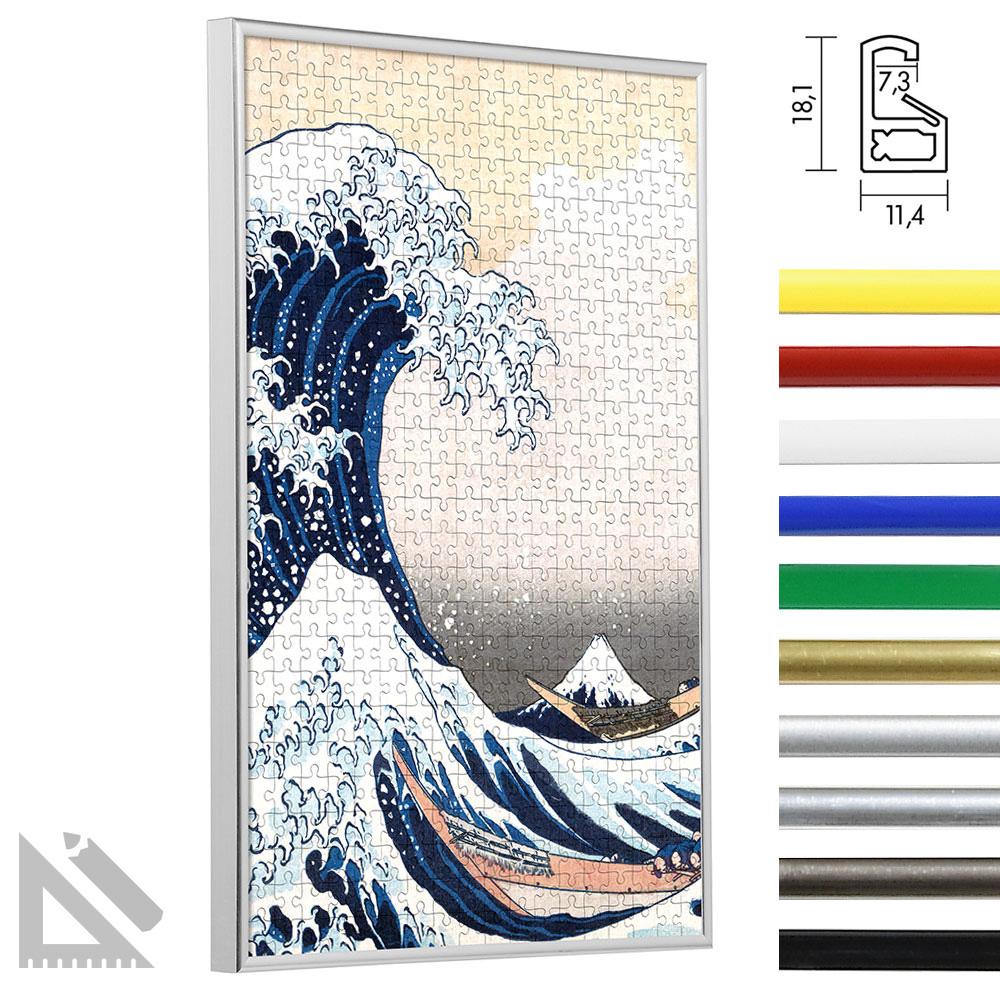 Marco para puzle de plástico - Sonderformat bis max. 100x100 cm