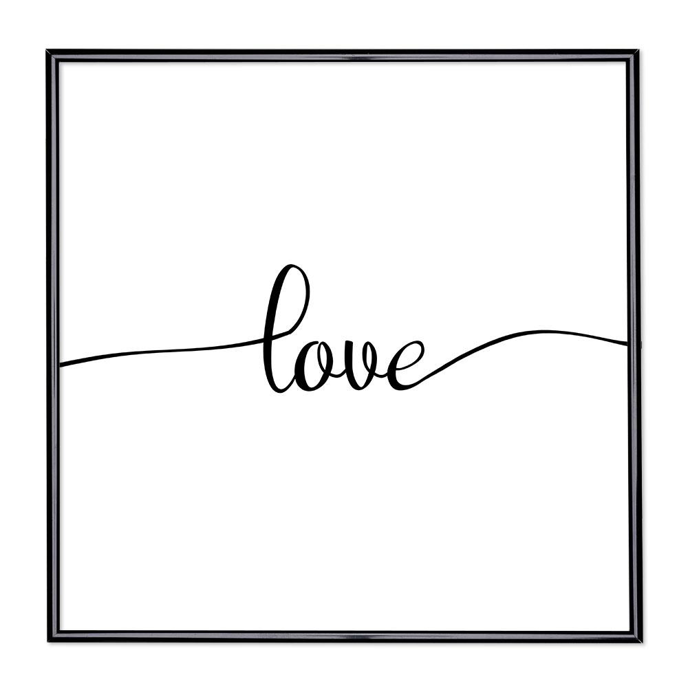 Marco con el lema - Love 1