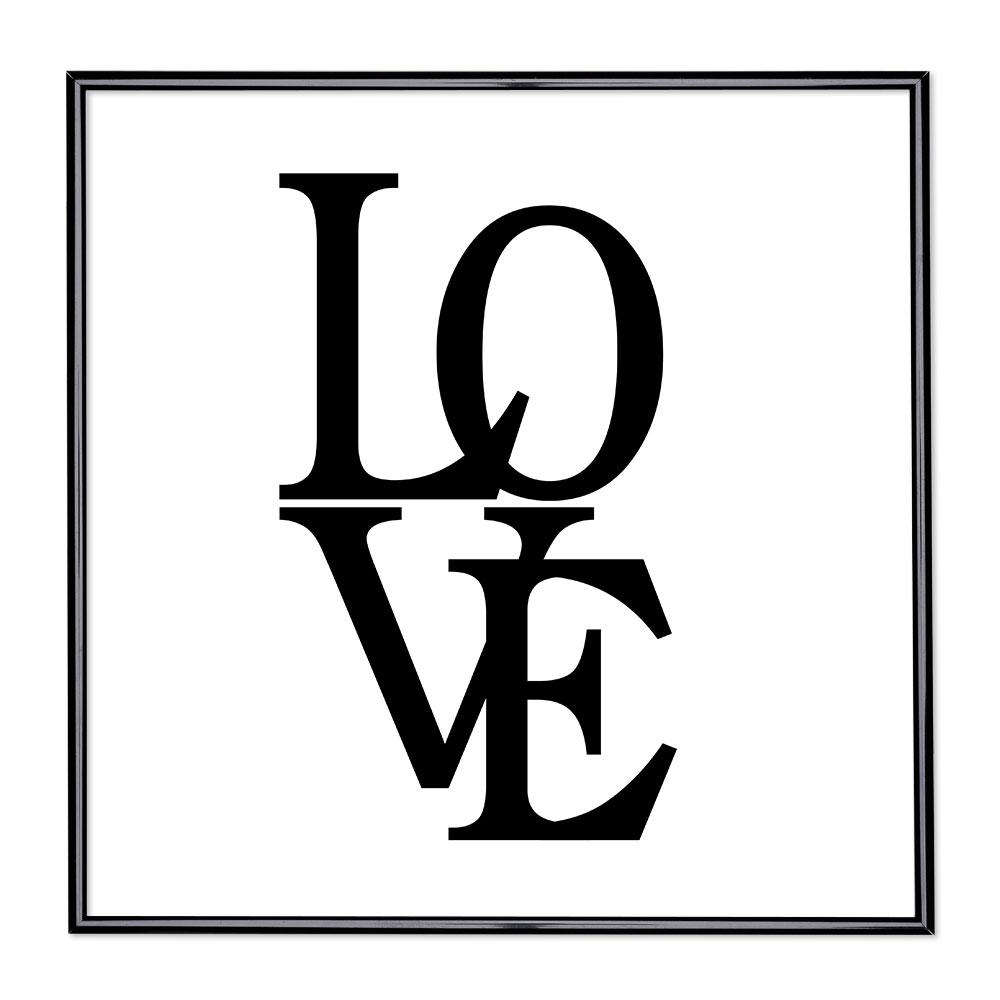 Marco con el lema - Love 2