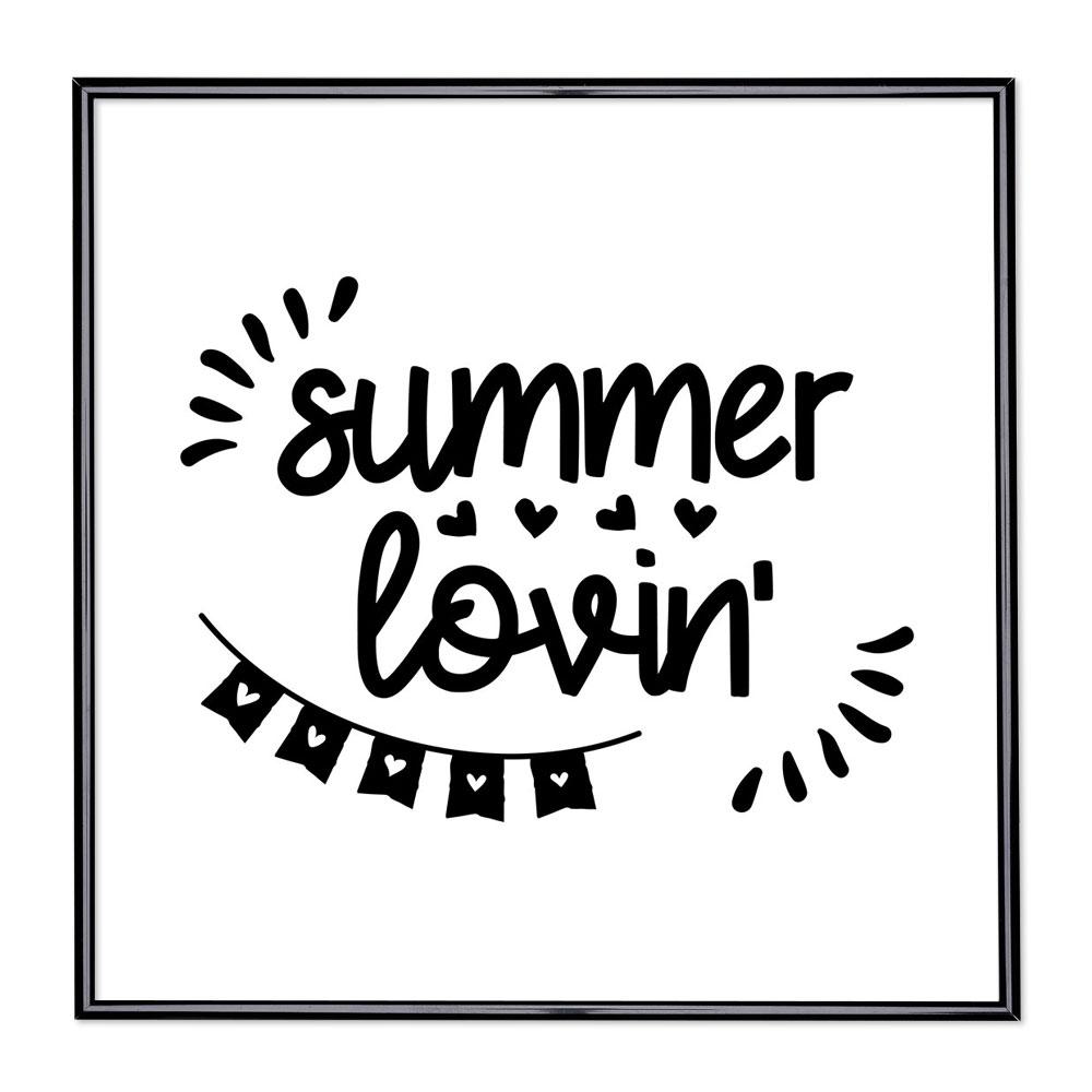 Marco con el lema - Summer Lovin