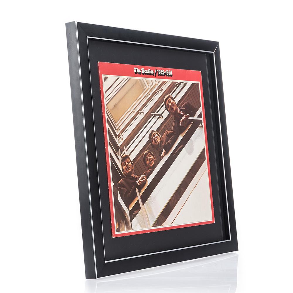 """Marco de madera """"Moulins"""" para discos de vinilo con portada"""
