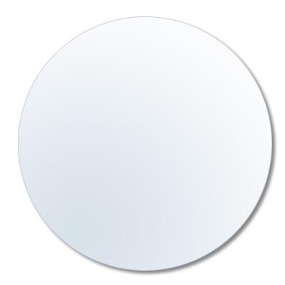 Vidrio redondo de recambio para marco