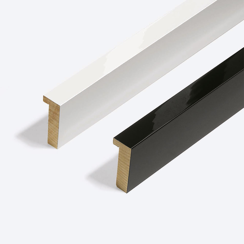 Marco de madera Matrix B&W 20x52