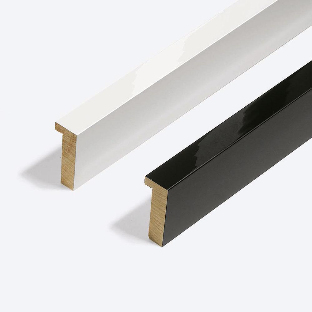 Marco de madera a medida, Matrix B&W 20x52