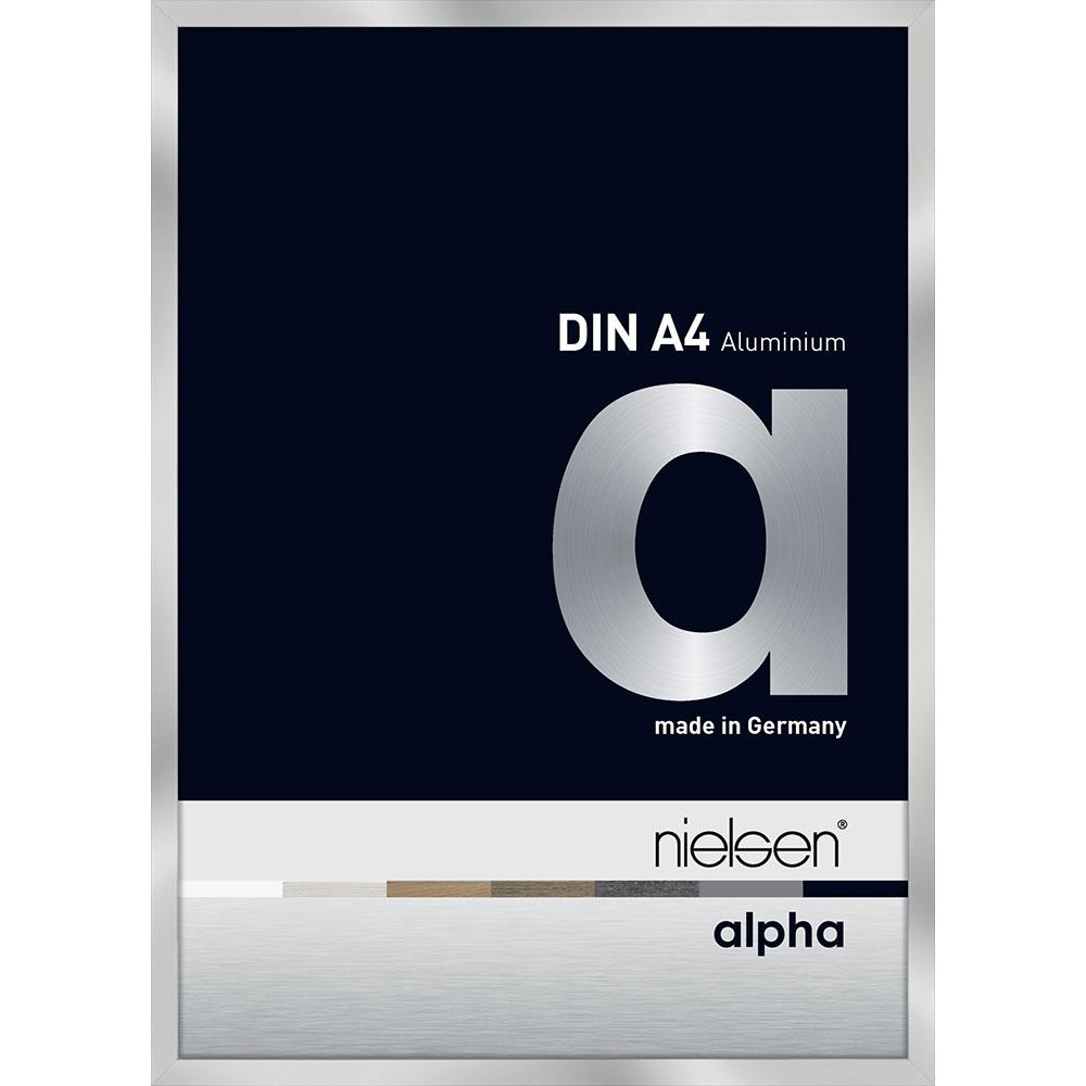 Marco de aluminio Alpha 10x15 cm | plata | vidrio normal