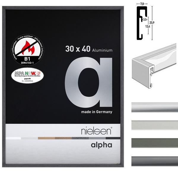 B1 marco protección contra incendios Alpha