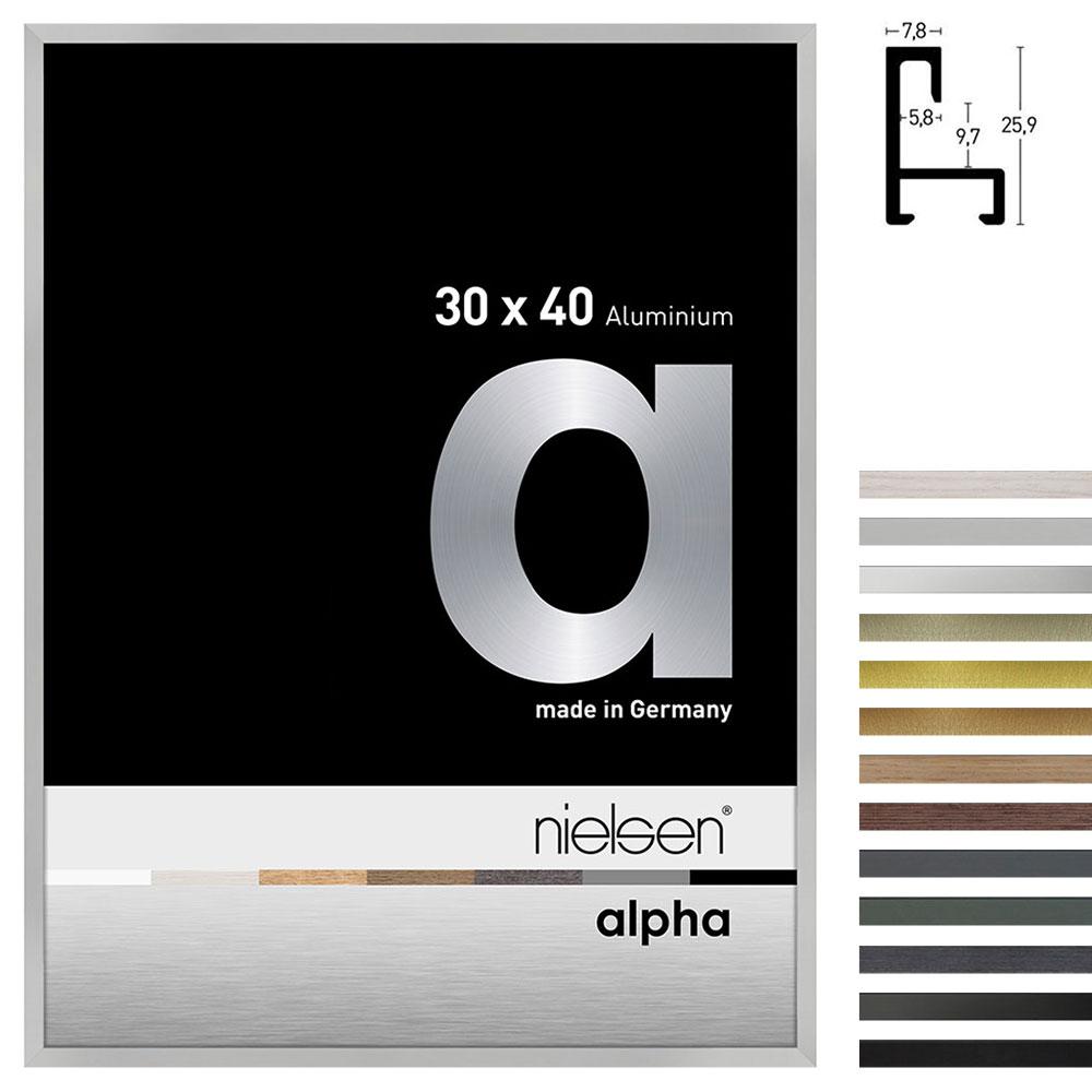 Marco de aluminio perfil alpha