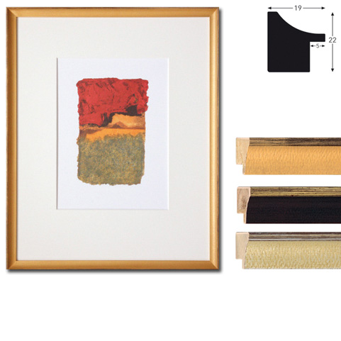 Marco de madera a medida, Vazgen Minis 2-19x22