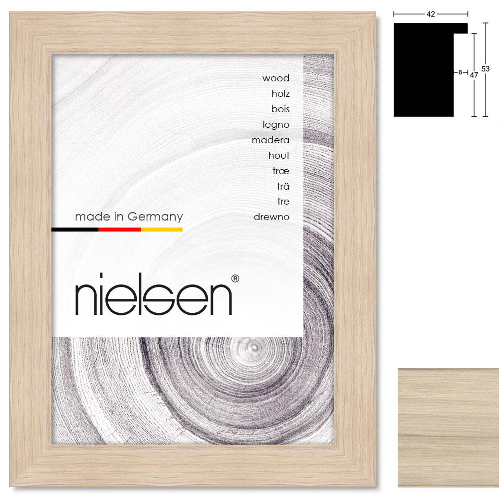 Marco de madera a medida, Oakwoods 42