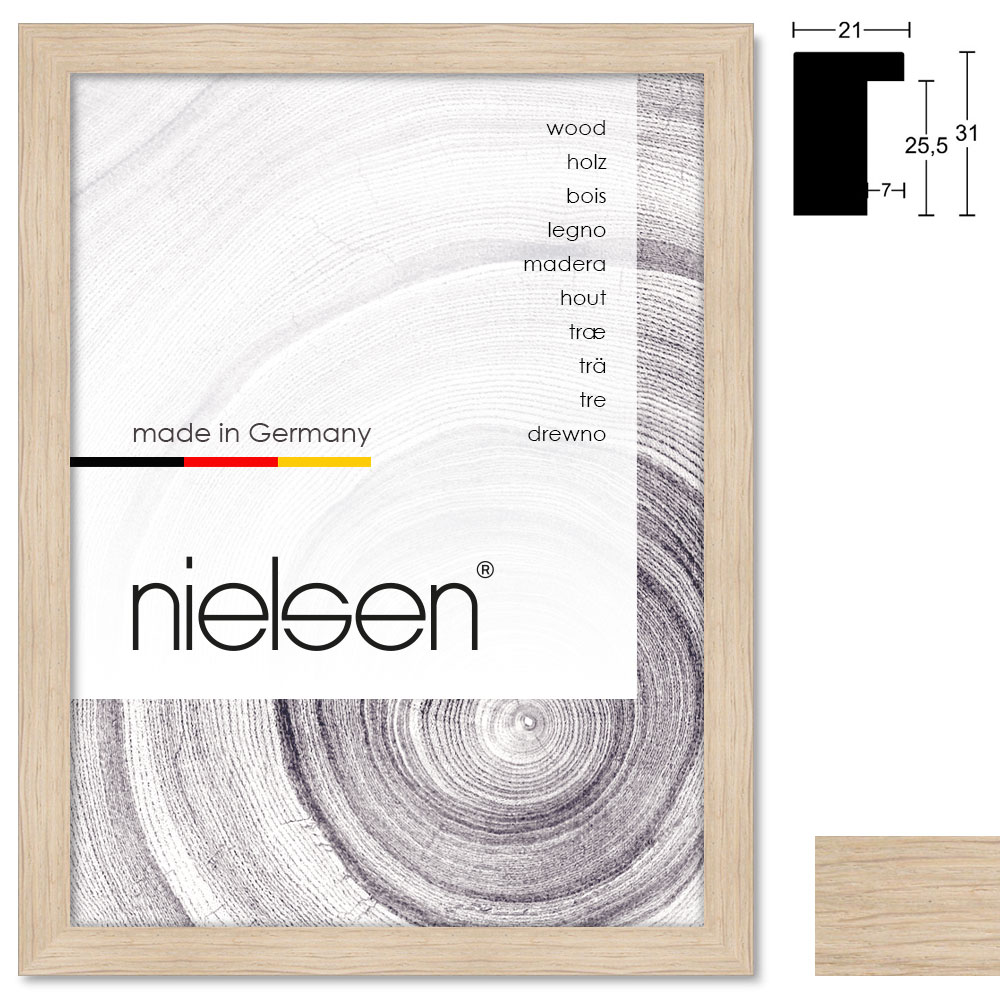 Marco de madera Oakwoods 21x31