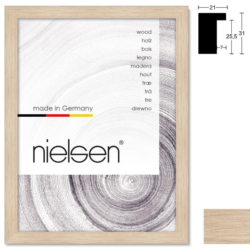 Marco de madera a medida, Oakwoods 21x31
