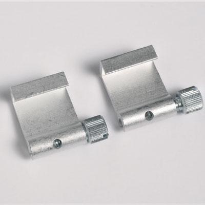 50 piezas ganchos de aluminio (max. capacidad de carga 5 kg)