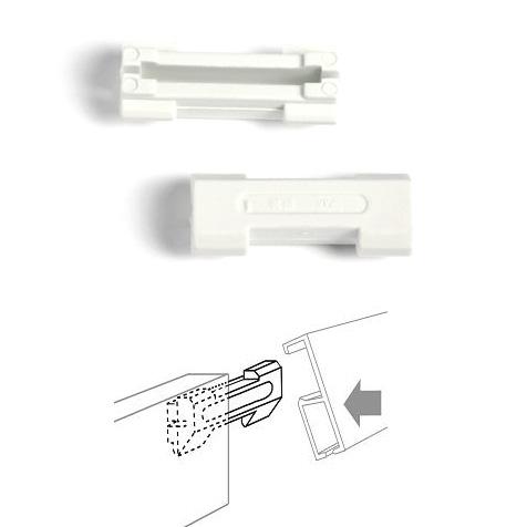 50 piezas conector de riel