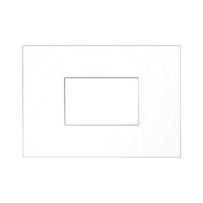 Paspartú galería 2,5 mm, formato exterior 21x29,7 cm