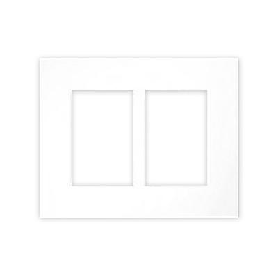 Paspartú galería 2,5 mm, formato exterior 24x30 cm