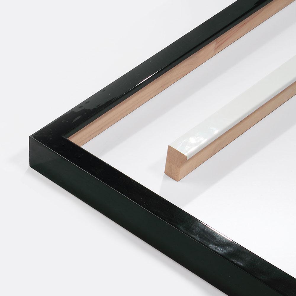 Marco de madera Matrix B&W 20x34