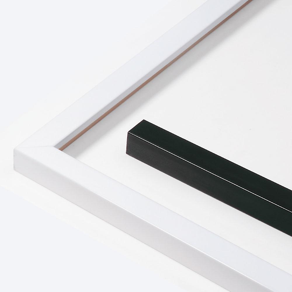 Marco de madera a medida, Matrix B&W 20x20