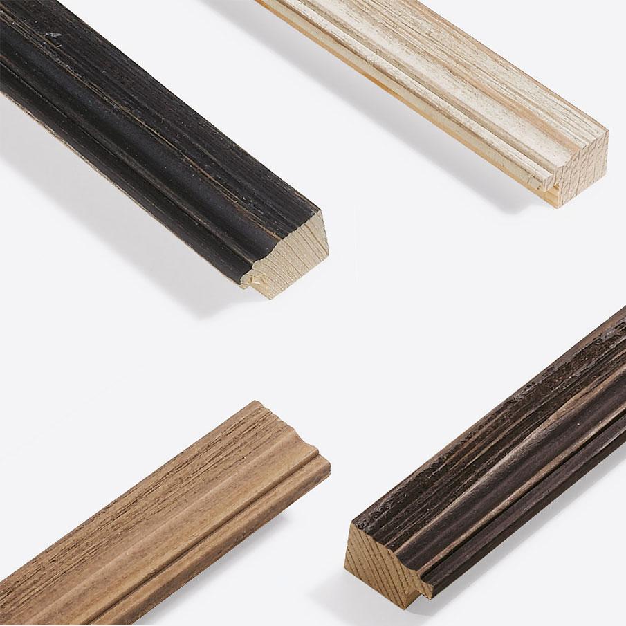 Marco de madera a medida, Chalet 31