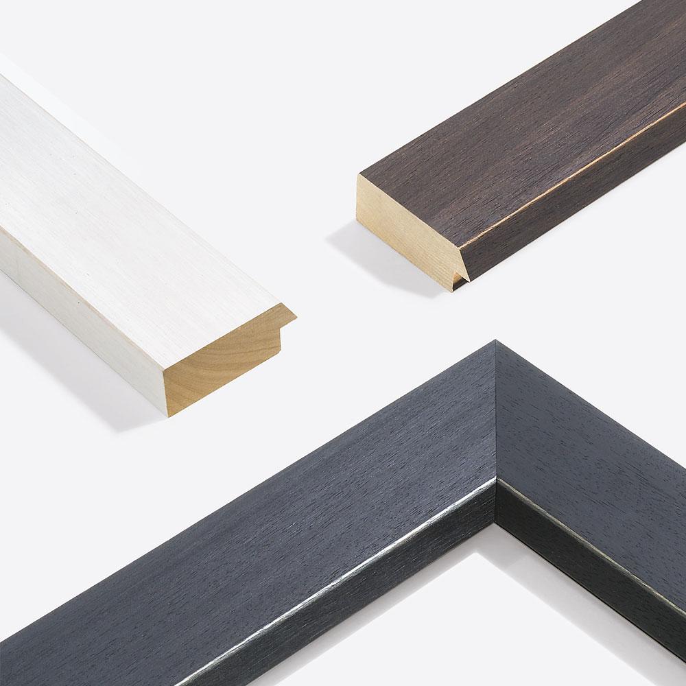 Marco de madera Modern Shabby 75