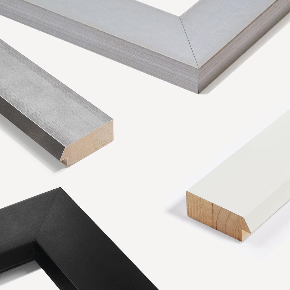 Nielsen marco de madera a medida contemporanea 75 - Madera a medida ...