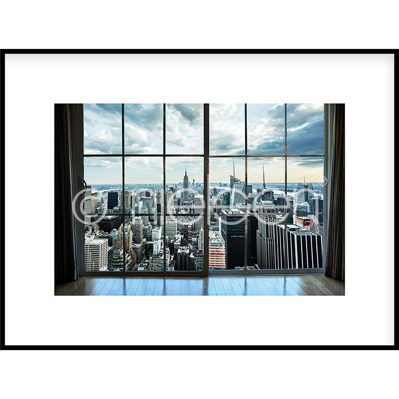 """Imagen con marco """"Living Room"""" con marco de alumino C2"""